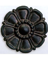 Gothic Flower Steel Rosette by