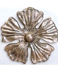 Button Flower Steel Rosette by