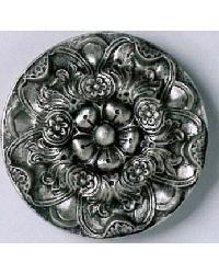 Floral Platter Resin Rosette by