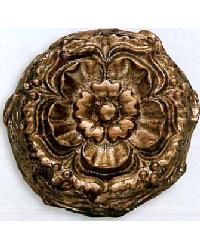 Floral Mound Resin Rosette by