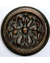 Intricate Scrolls Resin Rosette by