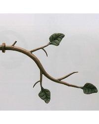 Branch with Leaf Finial by