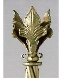 Regal Bloom Finial by  The Finial Company