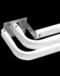 Triple Lock-Seam Curtain Rod by  Graber