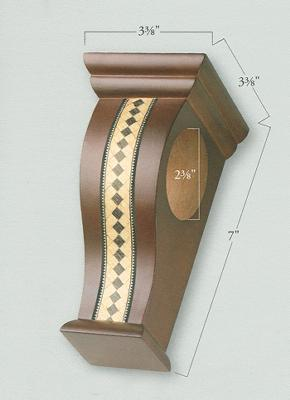 Inlaid Wall Sconce  by  Graber