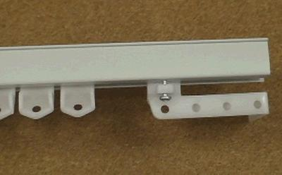 Graber Deluxe Ceiling/Wall Track 12 ft  Ceiling Track