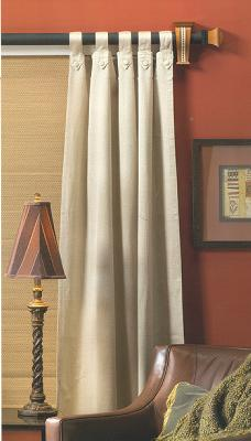 Curtain Rods cambria wood curtain rods : Wood Curtain Rods