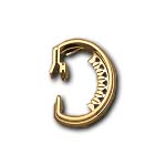 C Rings for Swags - Pair by  Graber