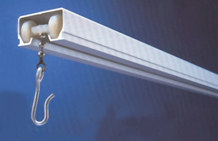 Imperial Fastener Cubicle Track - Ceiling Mount Curtain Track  Ceiling Track