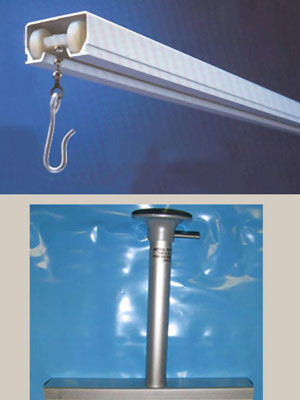 curtain track,hospital curtain track,cubicle curtain track,ceiling track, ceiling curtain track,cubicle track