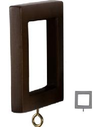 Square Wood Ring  Pkg/7  by