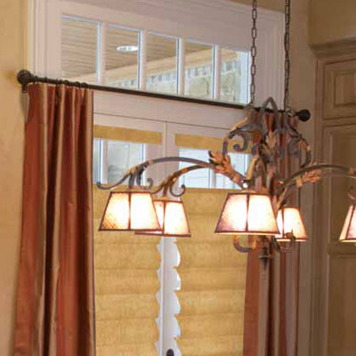 Small Curtain Rods - Thin Curtain Rods - Cafe Curtain Rods