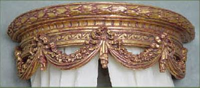 Bed Crown Menagerie Curtain Rods u0026 Hardware & Menagerie Curtain Rods u0026 Drapery Hardware - InteriorDecorating.com