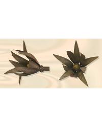 Bamboo Leaves Finial by