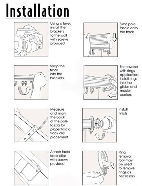 shower curtain curtains rod help instructions wire installation asp