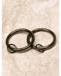 1.5 INCH Curtain Rings - 10 Rings by