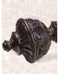 1.5 Inch Garland Finial by