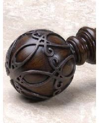 1.5 Inch Trellis Finial by
