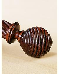 Globe Finial Set by