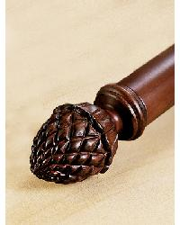 Pinecone Small Finial Set by