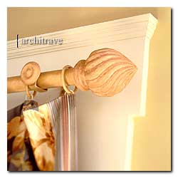 Architrave Metal Curtain Rods