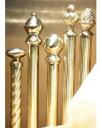 Brise Bise Brass Curtain Rods