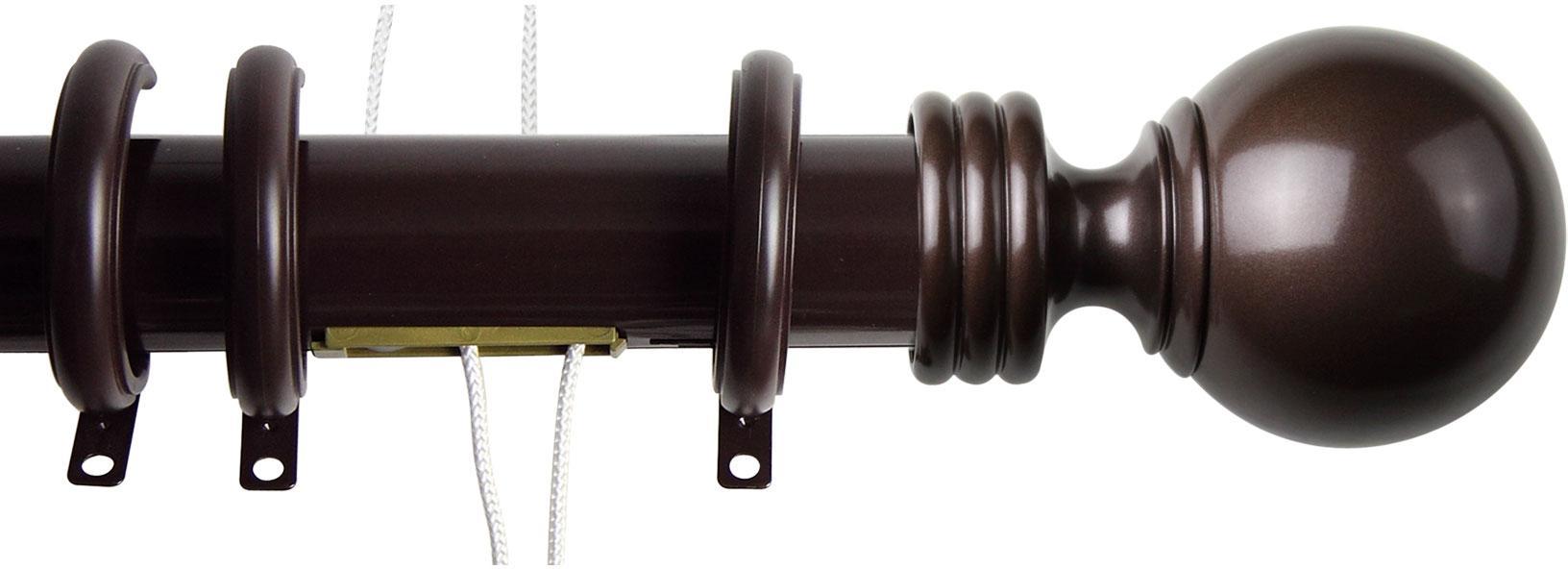 Ball Traverse Rod Rings Cocoa