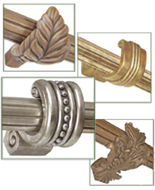 Curtain Rod Hardware Accessories