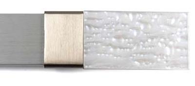 Brimar Shimmery Pearl Finial  Modern Curtain Rods