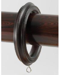2 3/4 Inch Dark Walnut Ring by