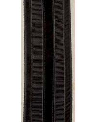 Velvet Jacquard Tape Black by