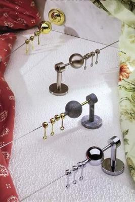 Casa Valentina Fatime Wire Set  Modern Curtain Rods