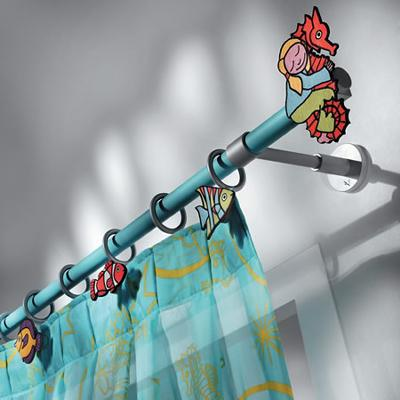 Casa Valentina Lili Leo Finial Set  Modern Curtain Rods