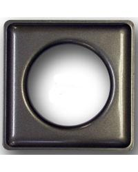 12 Square Metal Grommets by