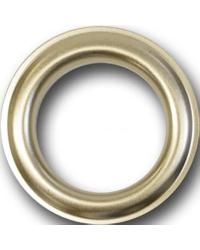 12 Round Metal Grommets by