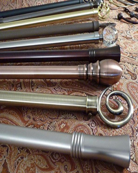 Aria Metal Curtain Rods