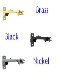 Center Support Nickel by  Graber