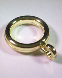 Cafe Rings w/Eye 3/4 in. D. by
