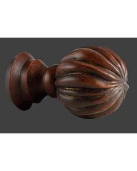 Twisted Ball Finial by