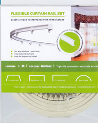 Super Flex Curtain Track Kit 6.6 ft by