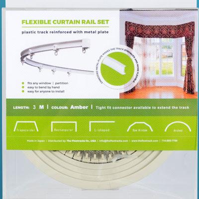 Super Flex Curtain Track Kit 9 8 Ft Interior Mall