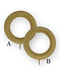 WOOD RINGS UNFINISHED by