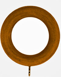 Smooth Wood Ring 2.25 Inside Diameter by