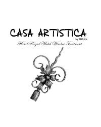 Casa Artistica Wrought Iron Curtain Rods