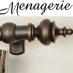 Menagerie Curtain Rods