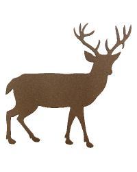 Deer Rosette by