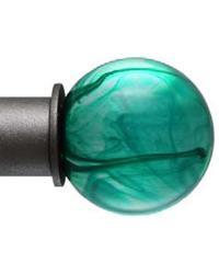 Emerald 1 Inch Finial by
