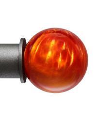 Fire Opal 1 Inch Finial by