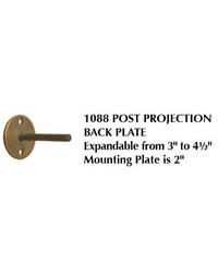 Tieback Post 1088 Adjustable by