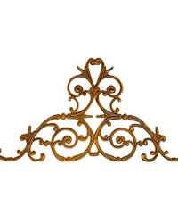 Mallorca Window Treatment Crown  by